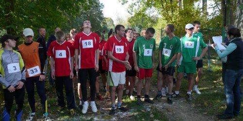 2010-10-12 Mistrzostwa powiatu kieleckiego szkół ponadgimnazjalnych w biegach przełajowych