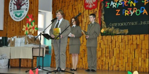 2014-03-25 II Artystyczne Spotkania z Przyrodą w Technikum Leśnym w Zagnańsku