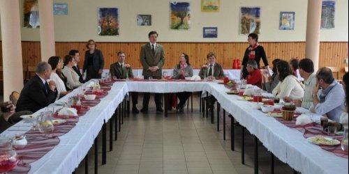 2014-04-05 Wizyta delegacji nauczycieli szkół leśnych z Francji