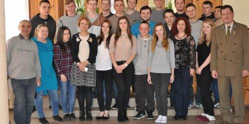 2015-04-16 Pożegnanie IV klasy  w internacie