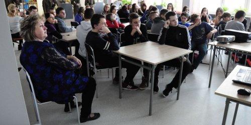 2015-12-01 Zielona lekcja w 7 Gimnazjum w Kielcach