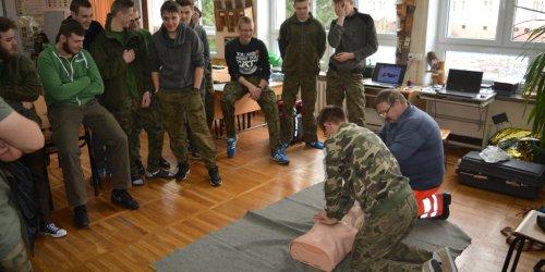 2016-01-11 Szkolenie uczniów klas II z pierwszej pomocy
