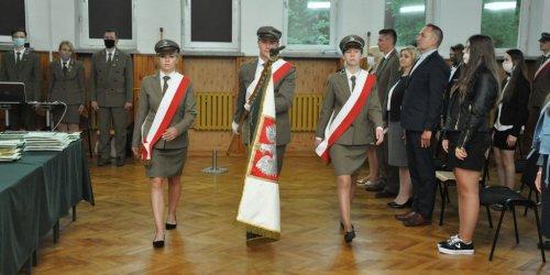 01-09-2020 Wyjątkowy 1 września 2020 r. w Zespole Szkół Leśnych w Zagnańsku