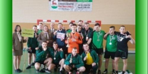 14-03-2019 Drużyna ZSL w Zagnańsku wicemistrzem Polski Szkół Leśnych w Piłce Ręcznej