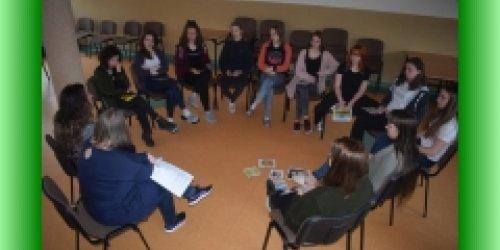 """03-04-2019 Zajęcia profilaktyczne """"Emocjonalna podróż"""""""