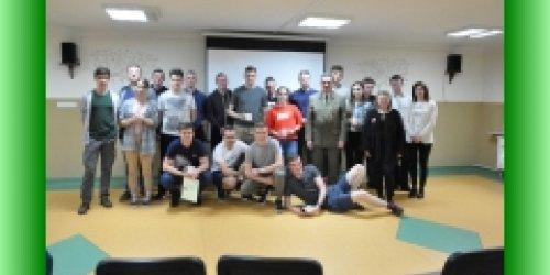 25-04-2019 Pożegnanie  uczniów klas IV w internacie