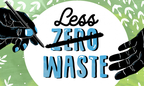 """Konkurs ekologiczny pt. """"Less waste – more forest""""."""
