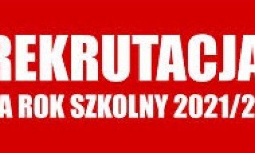 Lista kandydatów zakwalifikowanych do klas I Technikum Leśnego w Zagnańsku na rok szkolny 2021/22